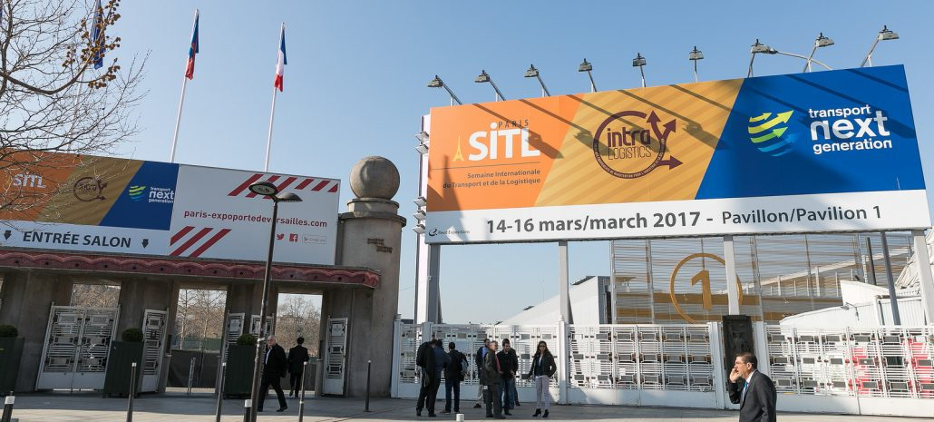 Salon SITL Paris 2017 - INTRALOGISTICS - Transport next generation